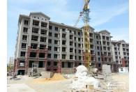东发现代城山水园二期工程进度(2013.5.15)