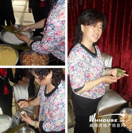 山水家园DIY包粽子活动5月25日甜蜜收官图片
